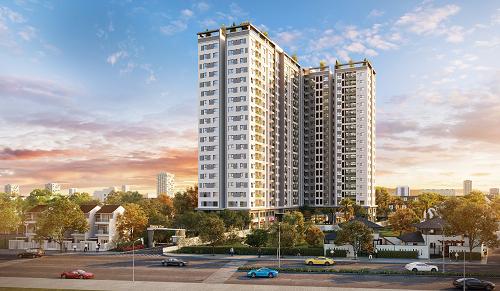 Dự án căn hộ đầu tiên của tập đoàn tại thành phố Thủ Dầu Một cung ứng ra thị trường 486 căn hộ, tổng vốn đầu tư 700 tỷ đồng.