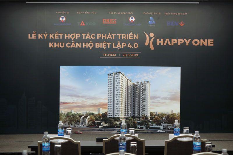 Lễ ký kết hợp tác phát triển khu căn hộ biệt lập 4.0 Chung Cư Vạn Xuân (Happy One)