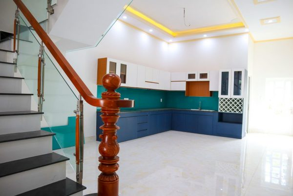 không gian bếp nhà kdc hiệp thành 3 phường hiệp thành thủ dầu một