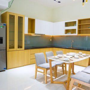 không gian phòng bếp nhà phường phú mỹ thủ dầu một đường dx 034