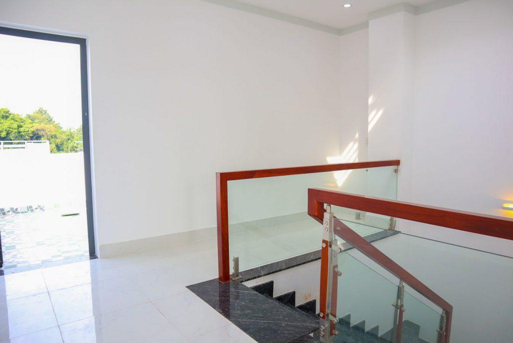 Không gian phòng giặt đồ trên lầu 3