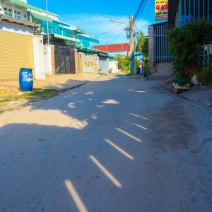 đường trước nhà bê tông 5m