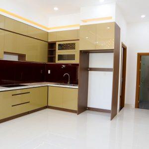 không gian bếp sang trọng
