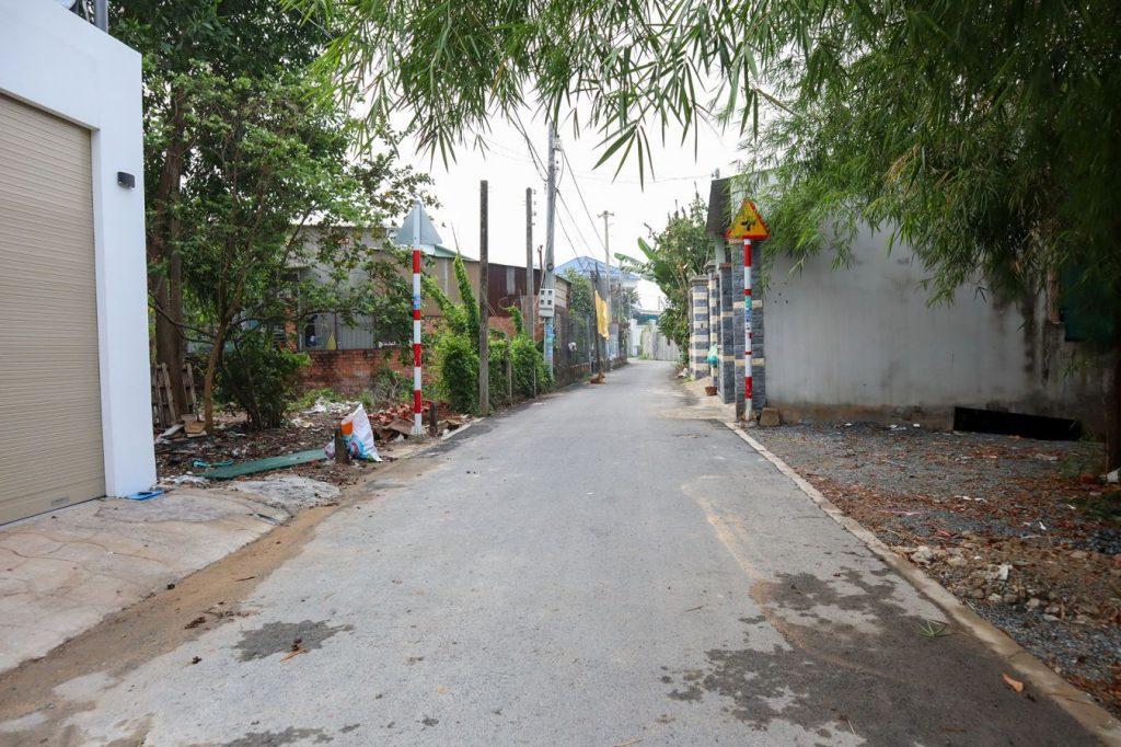 đường trước nhà nhựa 4,5m